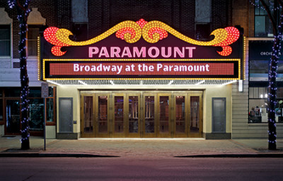 OPN Architects and Martinez + Johnson Architecture worked together to bring the historic Paramount Theatre in Cedar Rapids, IA, back to its original grandeur while also upgrading the performance areas and adding contemporary conveniences. All photos: Wayne Johnson, Main Street Studio