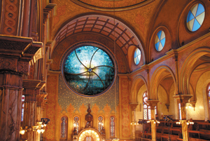Eldridge Street Synagogue's Art Glass