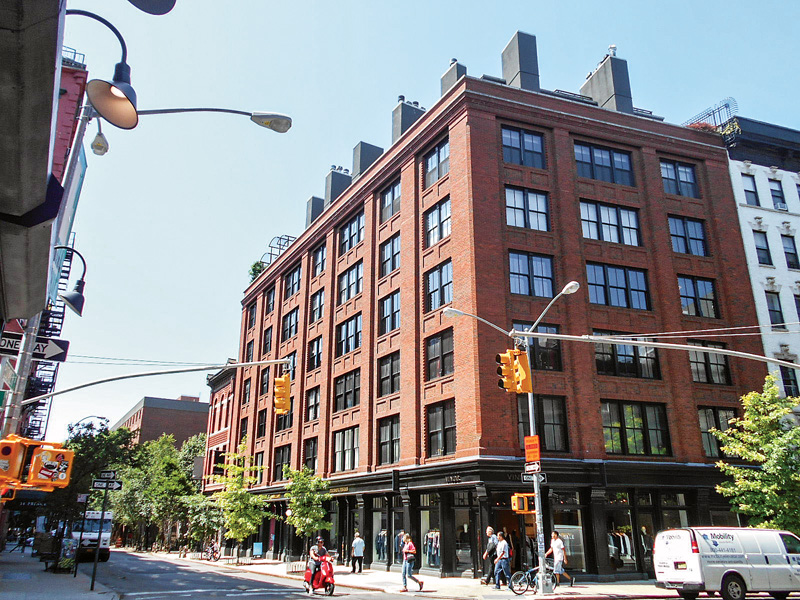 "211 Elizabeth Street in the NoHo Historic District, New York, was designed by Roman & Williams and completed in 2007. It is a new structure consistent with the character of its setting while not being a copy of any other building. Without clarification from the NPS, some preservationists would see such a new design as not ""differentiated enough"" from its historic neighbors to avoid creating a ""false historic appearance."" (Photo: courtesy of Roman & Williams Architects)"