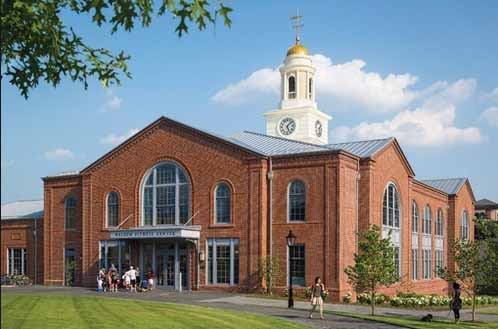 Nelson Fitness Center, Brown University. Photo: athleticbusiness.com