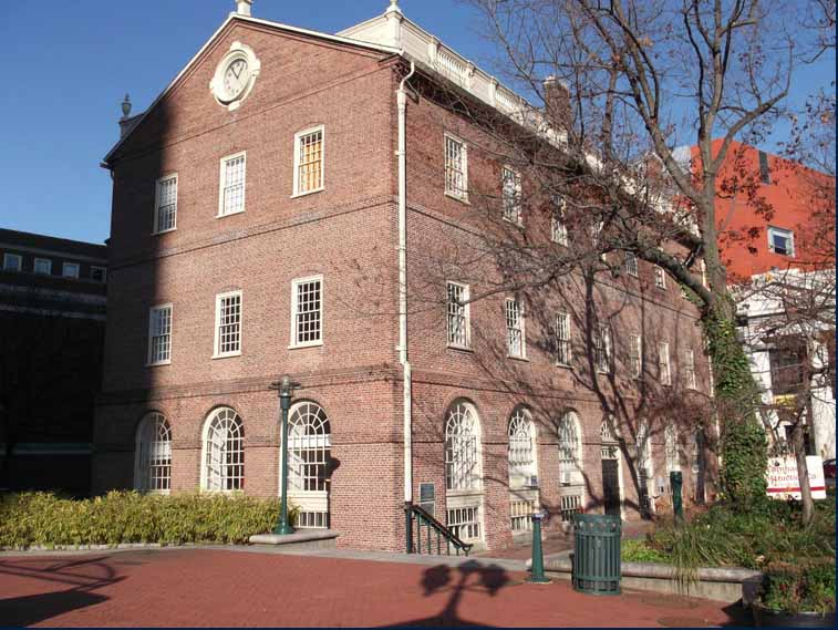 Market Square, Providence. Note RISD wing's brick in background. Photo: quahogannex.wordpress.com